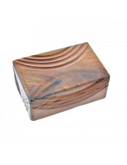 Boite en bois gravé 15 cm x 10 cm