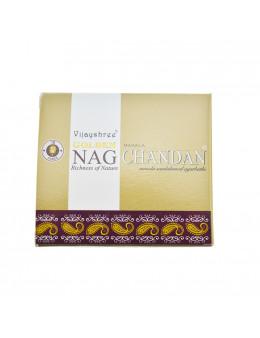 Encens Vijayshree Golden Nag Chandan 10 cones