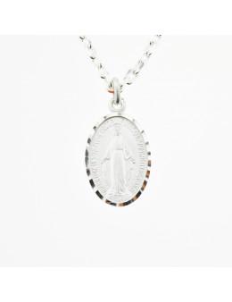 Médaille Vierge Miraculeuse en argent 925