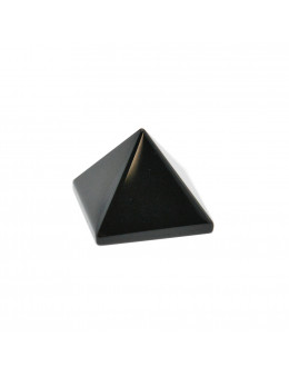 Pyramide Obsidienne noire - 2 cm