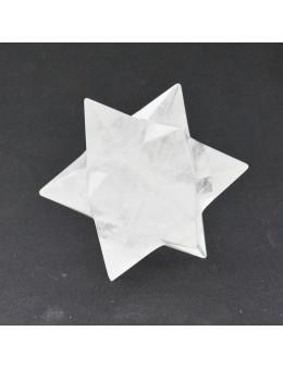 Dodécaèdre étoile - Cristal de roche