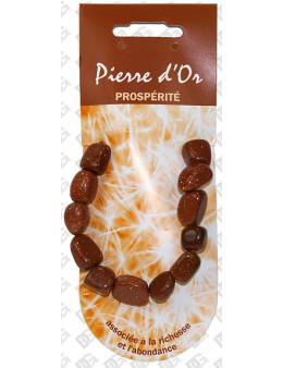 Bracelet coeur pierre de vertu Pierre de Soleil