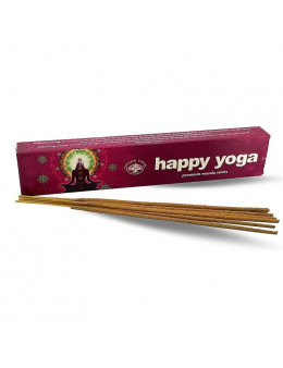 Encens Baguette Green Tree - Happy Yoga - 15g