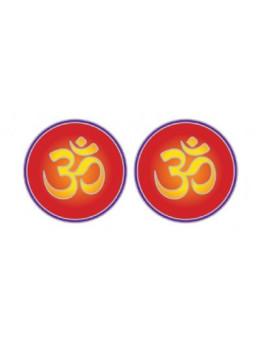 Symbole autocollant pour vitre - Ohm