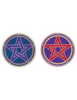 Symbole autocollant pour vitre - Pentacles mystiques