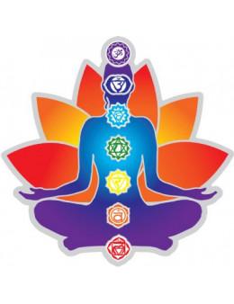 Symbole autocollant pour vitre - Chakras