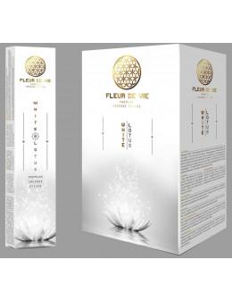 Encens baguette Fleur de vie 15g - Lotus blanc