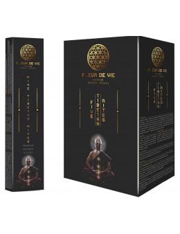 Encens baguette Fleur de vie 15g - 5 rites tibétains