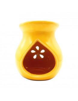 Brûle-encens en céramique émaillée, ajouré, 9 cm