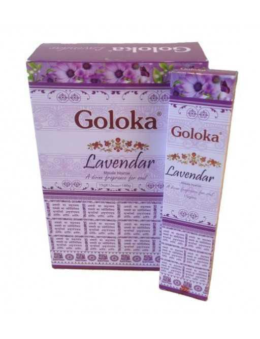Encens Goloka - Lavande - Lavender Massala incense- 15g