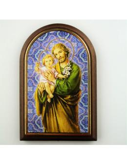 Chevalet bois arcade images saintes