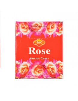 Encens cone Sac - Rose - 10 pcs