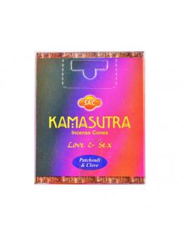 Encens cone Sac - Kamasutra - 10 pcs