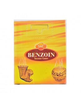 Encens cone Sac - Benjoin - 10 pcs
