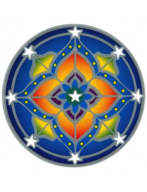 Autocollant Attrape Soleil : Mandala 1
