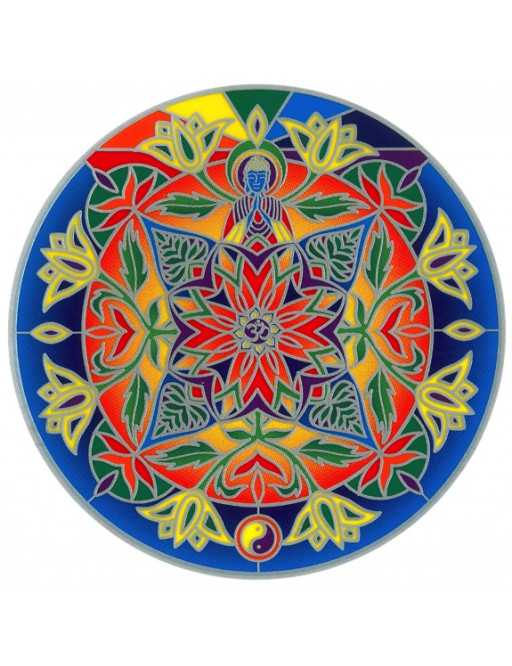 Autocollant Attrape Soleil : Mandala 2