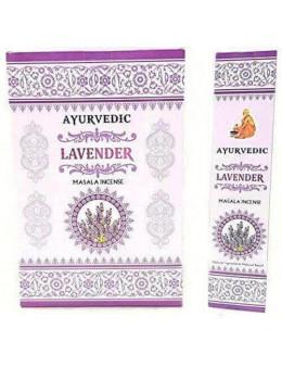 Encens baquette Ayurvedic Lavande - encens masala
