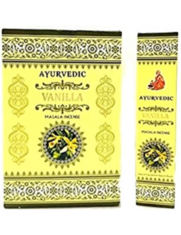 Encens baquette Ayurvedic Vanille - encens masala
