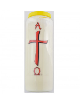 Neuvaine Baroque Croix Alpha Omega