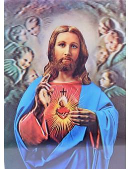 Poster 2D images saintes changeantes