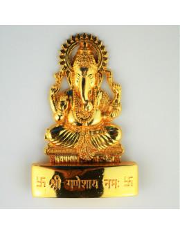 Statuette indienne Ganesha 7cm - laiton