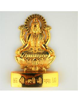 Statuette indienne Lakshmi 7cm - laiton