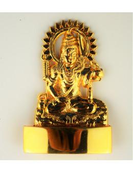 Statuette indienne Shiva 7cm - laiton