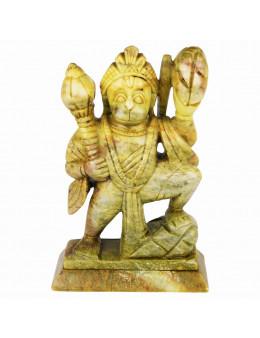 Statuette indienne Hanuman 16cm - marbre