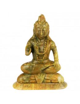 Statuette indienne Shiva 16cm - marbre