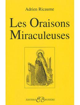 Les oraisons miraculeuses