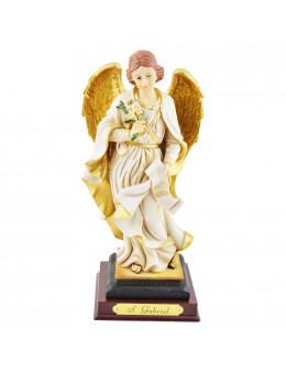 Statue Saint Gabriel 20 cm - résine
