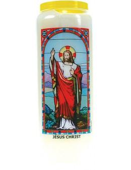 Neuvaine vitrail : Jésus Christ