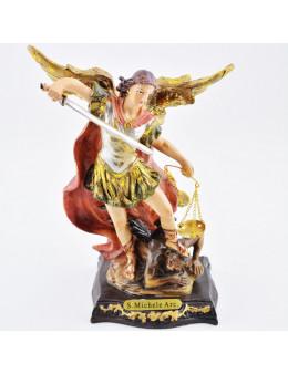 Statue Saint Michel 15 cm - résine
