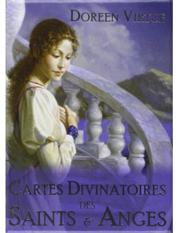 Cartes divinatoires des Saints & Anges - Coffret livret + 44 cartes