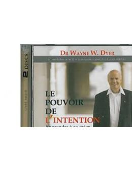 Pouvoir de l'intention livre audio 2CD
