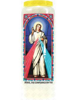 Neuvaine vitrail : Jésus j'ai confiance en toi