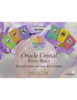Coffret oracle cristal feng shui - Bodin Nathalie