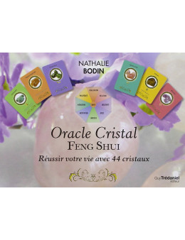 Oracle Cristal Feng Shui - Coffret livret + cartes