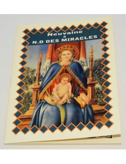 Neuvaine à Notre Dame des Miracles