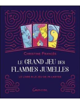 Le Grand jeu des Flammes Jumelles - Le livre & le jeu de 78 cartes