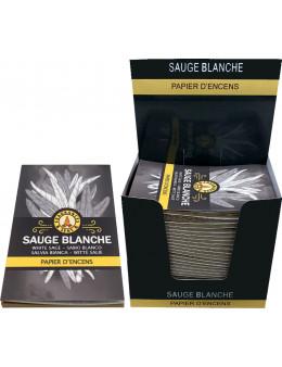 Papier d'encens Fragrances & Sens Sauge Blanche