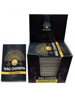 Papier d'encens Fragrances & Sens Nag Champa
