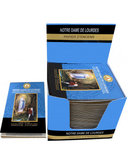 Papier d'encens Fragrances & Sens Notre Dame de Lourdes