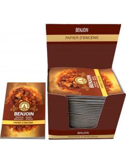 Papier d'encens Fragrances & Sens Benjoin