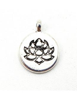 Charme Lotus Argent 2cm