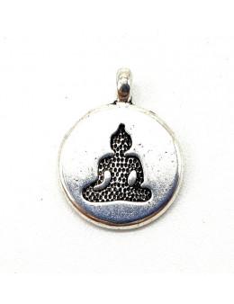 Charme Bouddha Argent 2cm