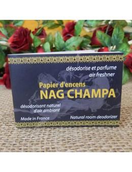 Papier d'encens Nag Champa