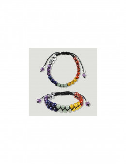 Bracelet Chakra à cordon double