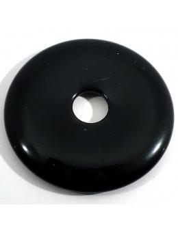 Pendentif Donut Onyx 35mm