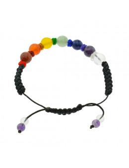 Bracelet macramé Chakra